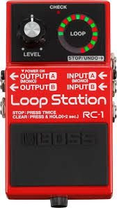 Pedal Boss RC-1 Loop Station