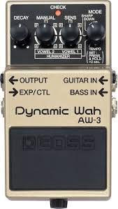 Pedal Boss AW-3 Dynamic Wah