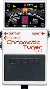Pedal Boss TU-3 Cromatic Tuner