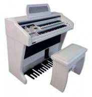 Órgão Tokai MD750 Gold Branco Alto Brilho