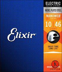 Encord Elixir Nanoweb Guitarra 010/46