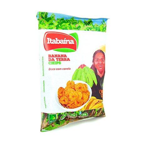 BANANA DA TERRA CHIPS DOCE COM CANELA - COOPATAN