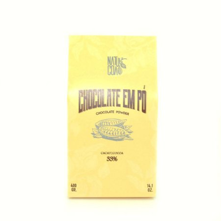 CHOCOLATE EM PO 33% 400GR - NATUCOA