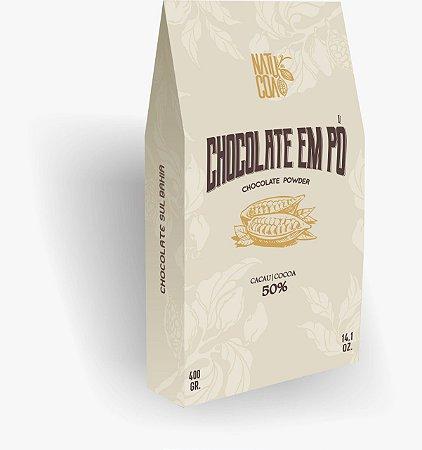 CHOCOLATE EM PÓ 50% 300g - NATUCOA