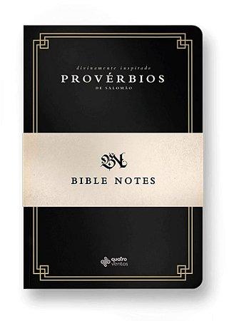 BIBLE NOTES - Proverbios de Salomao