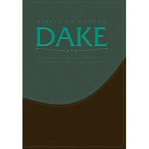 BÍBLIA DE ESTUDO DAKE - AZUL