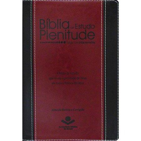 BÍBLIA DE ESTUDO PLENITUDE VINHO