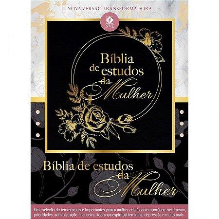 BÍBLIA DE ESTUDOS DA MULHER - PRETO