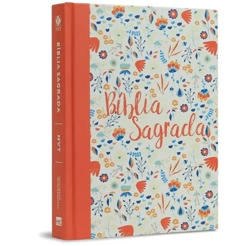 BÍBLIA SAGRADA - GAROTA DE FÉ - NVT CORAL FLORIDA