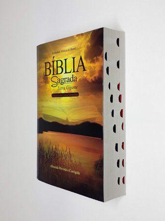 BÍBLIA SAGRADA LETRA GIGANTE - EDIÇÃO COM LETRAS VERMELHAS