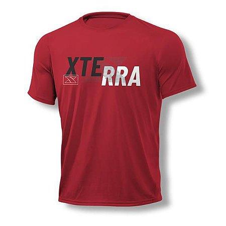 Camiseta Masculina Xterra X Dots Vermelha