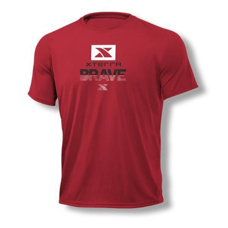Camiseta Masculina Xterra Brave Vermelha