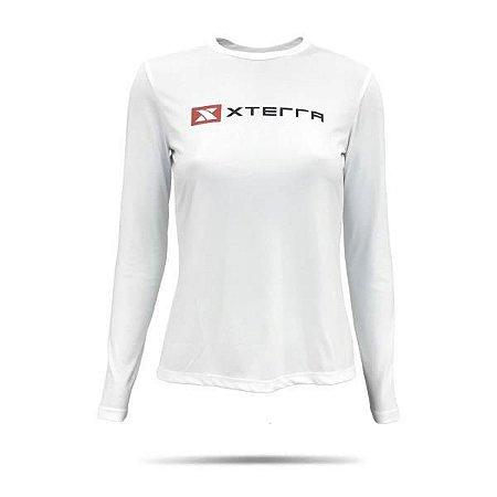 Camiseta Feminina Manga Longa Xterra Dry UV Udine