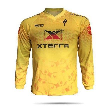 Camisa Masculina X-DRY XTERRA MTB Downhill Tour 2017