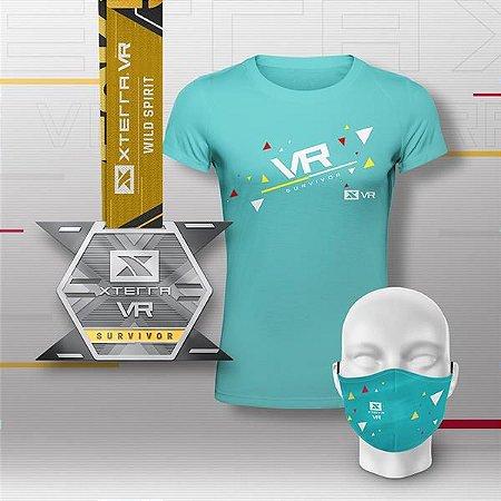 XTERRA VR WILD SPIRIT Kit Premium Feminino Verde Água