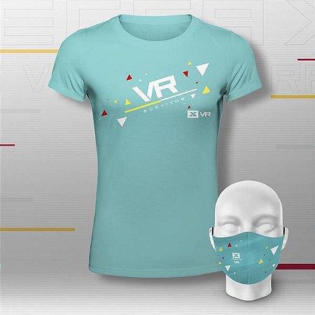 Kit Basic Feminino Xterra VR Club Verde Água