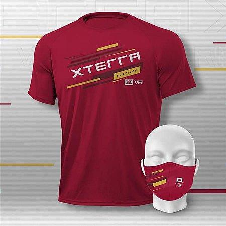 XTERRA VRCLUB Kit Basic Masculino Vermelho