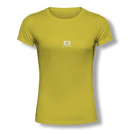 Camiseta Feminina Xterra Amarela