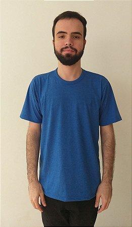 Camiseta Malha Mescla Color