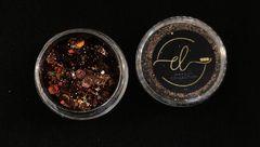 Coleção Brilhe Glitter Coffe Brown