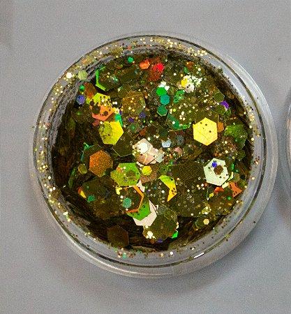 Coleção Brilhe Glitter Gold