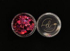 Coleção Brilhe Glitter Magenta