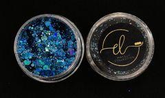 Coleção Brilhe Glitter Turquoise
