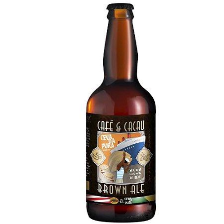 Cerveja Cevada Pura Brown Ale Café e Cacau