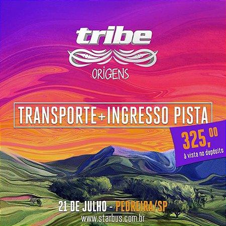 Transporte + Ingresso Pista