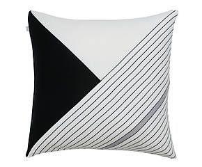 Almofada Listras Preto e Branco