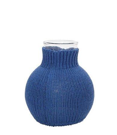Vaso Bolinha Azul