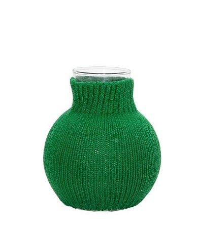 Vaso Bolinha Verde