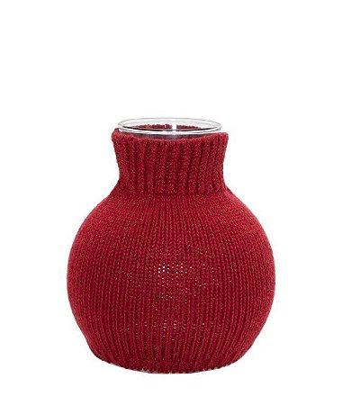 Vaso Bolinha Vermelho