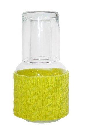 Vaso Moringa Amarelo Neon