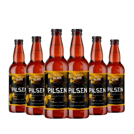 Box Slod 6 - Pilsen - 6 garrafas 600ml