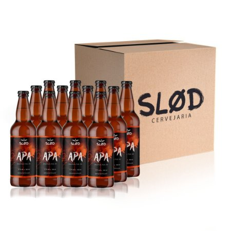 Box Slod 12 - APA - 12 garrafas 500ml