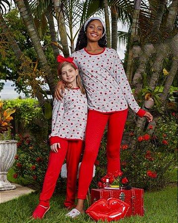 Pijama Mãe e Filha / Infantil