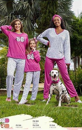 Pijama Mãe e Filha / Ref 265