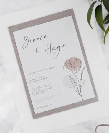Identidade visual: artes avulsas, kits ou convite de casamento - minimalista tulipa keli [artes digitais]