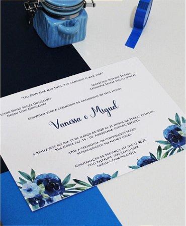 Convite de Casamento ou Identidade Visual - Classic Blue 2020 [Artes Digitais]