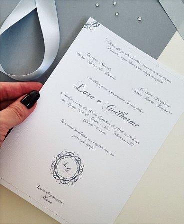 Identidade visual: artes avulsas, kits ou convite de casamento - clássico Ccinza [artes digitais]