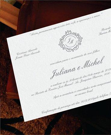 Convite de Casamento ou Identidade Visual - Clássico Brasão [Artes Digitais]
