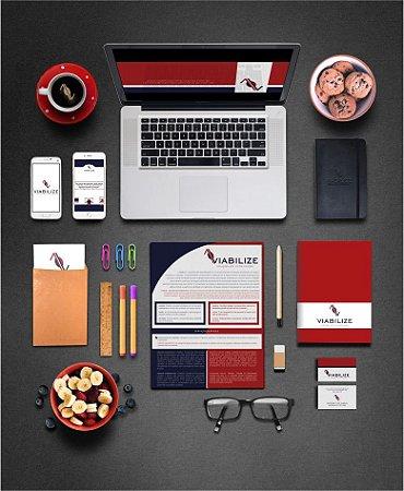 Identidade Visual para Marcas e Empresas - Criação Nova [Artes Digitais]