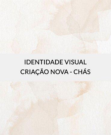 Identidade Visual para Chás - Criação Nova [Artes Digitais]