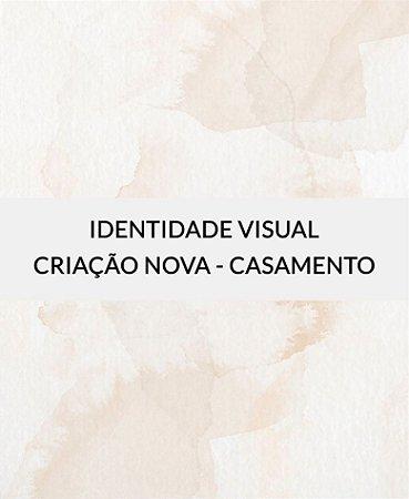 Identidade Visual para Casamento - Criação Nova [Artes Digitais]