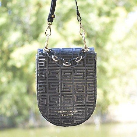 Bolsa Transversal em Verniz Smartbag