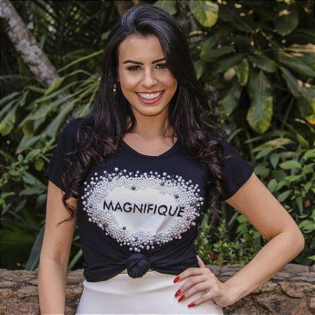 T- Shirt Em Malha
