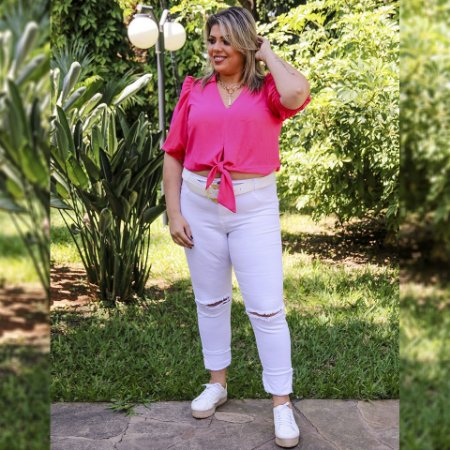 Cropped Plus Size