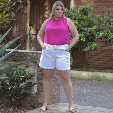 Blusa Em Crepe Lisa