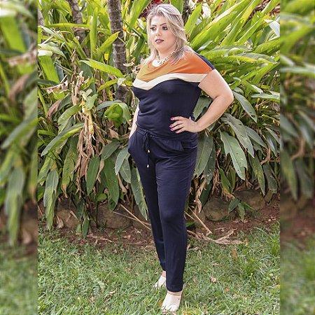 Blusa Em Malha Plus Size